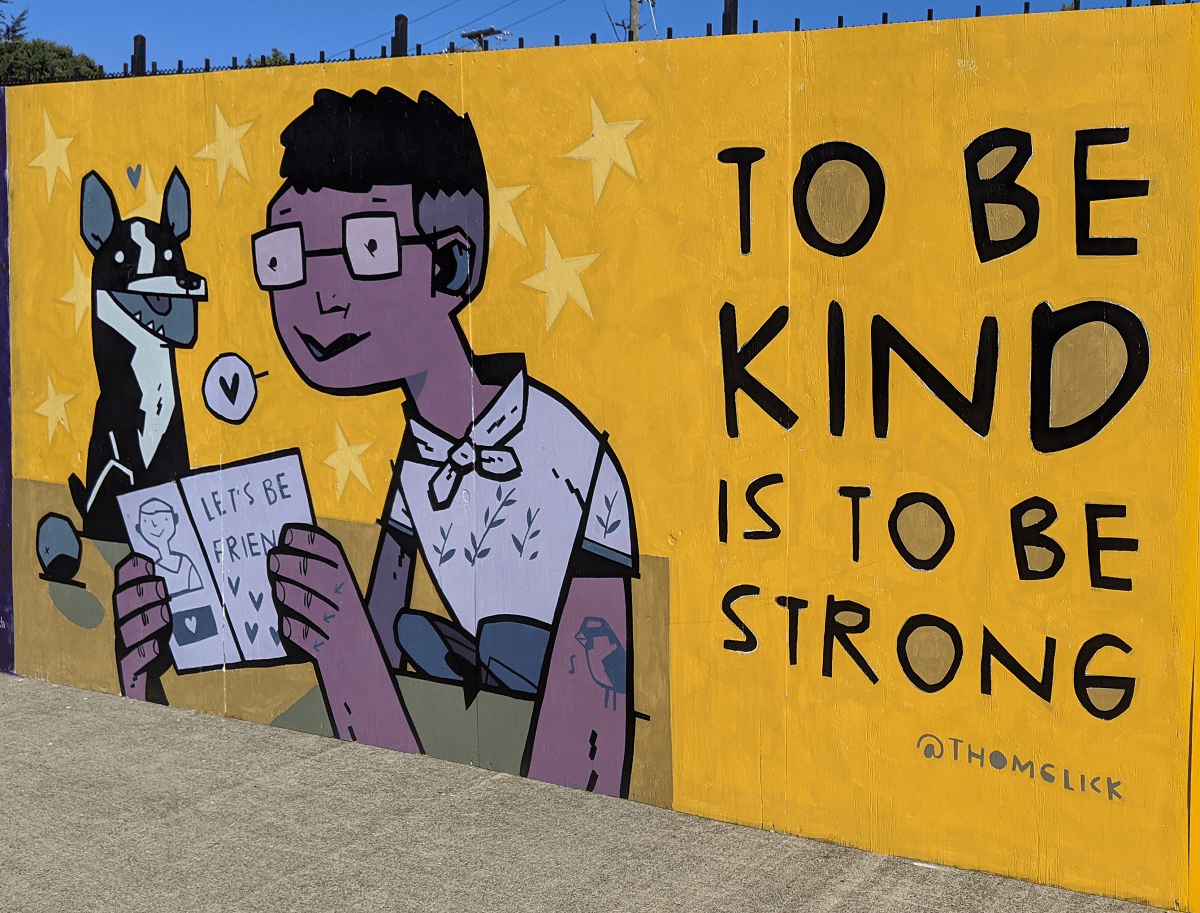 To be kind is to be strong