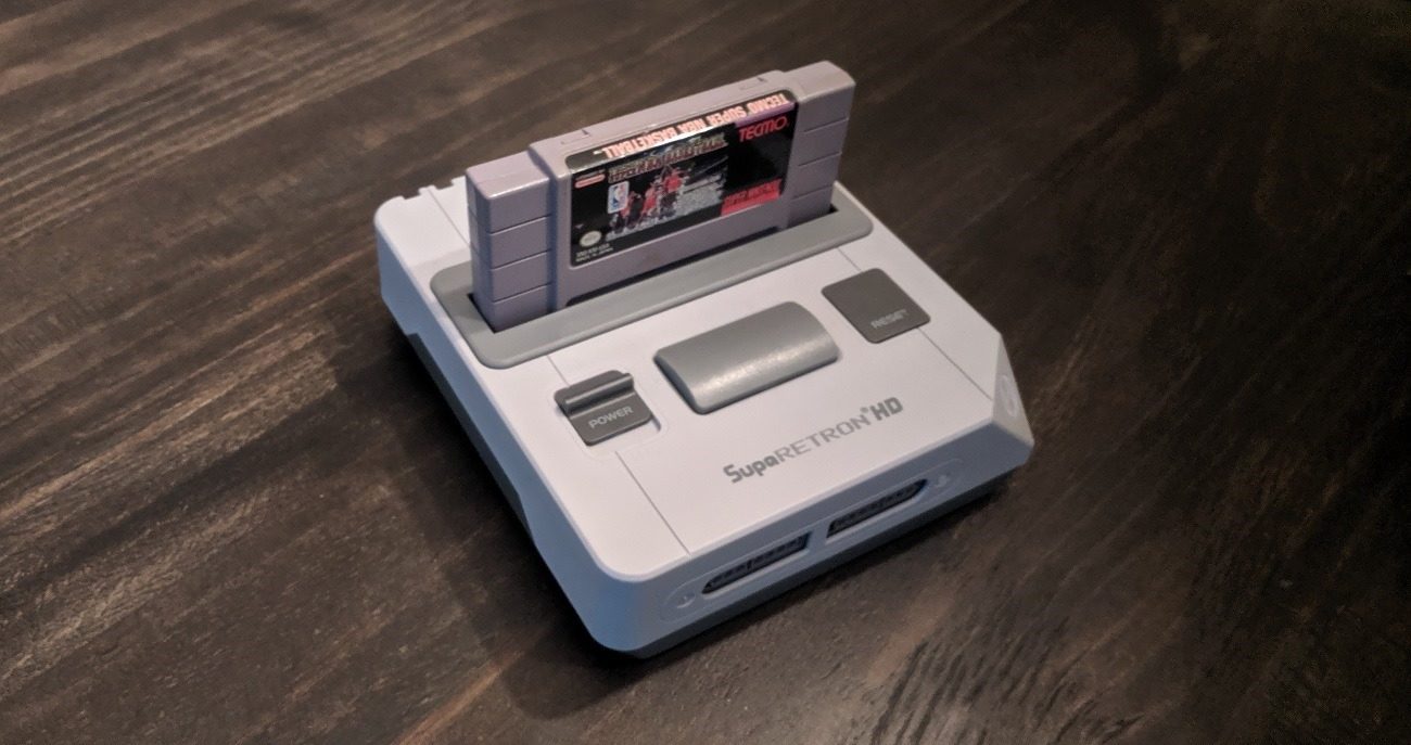 Hyperkin Super Retron HD with Tecmo Super NBA