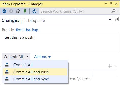 GitHub commit push