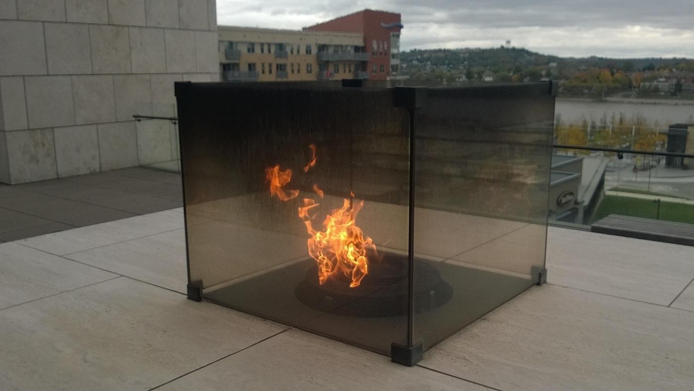 Fanning the flame of Freedom Cincinnati Ohio