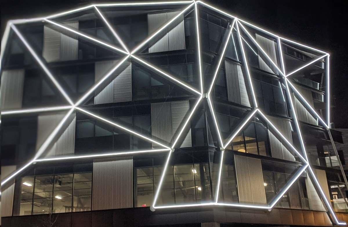Gravity Columbus Ohio building facade
