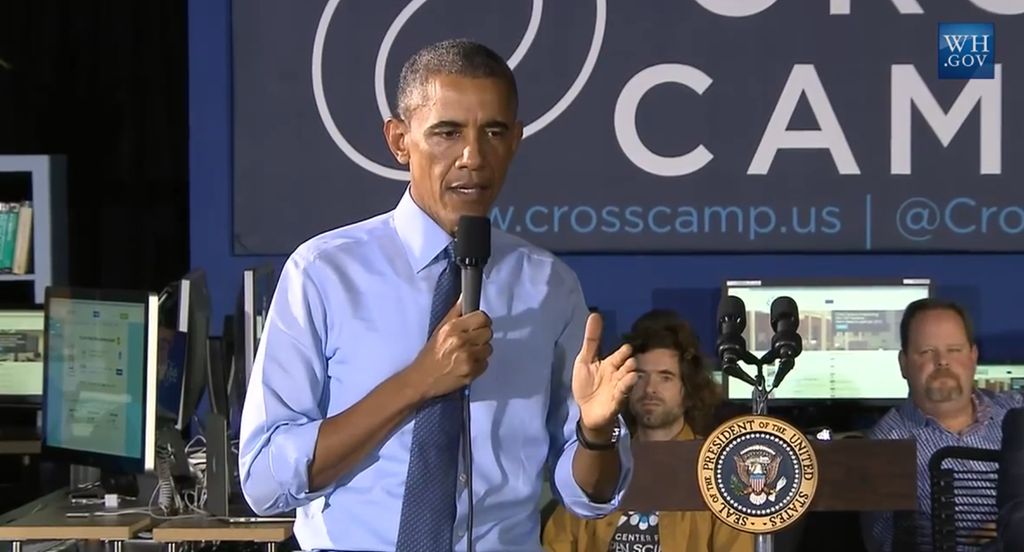 President Obama speaking on net neutrality