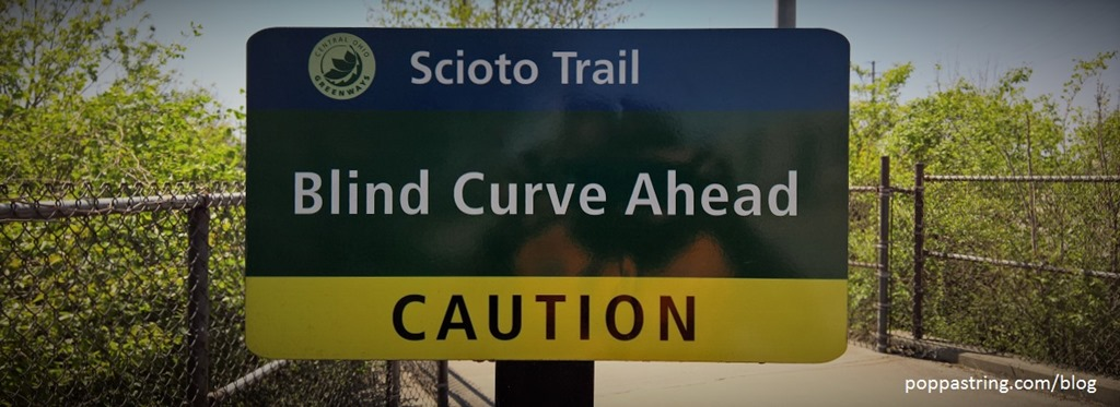 Scioto Trail, Columbus Ohio (Blind Curve)