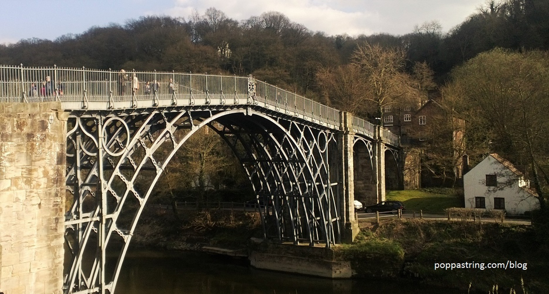 Iron bridge - River Severn, Shropshire