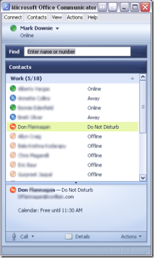 office communicator 2005
